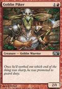 Goblin Piker - Magic 2010