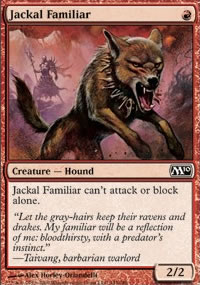 Jackal Familiar - Magic 2010