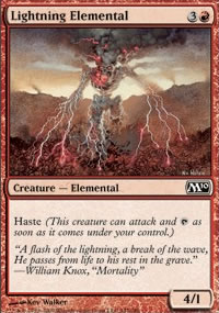Lightning Elemental - Magic 2010