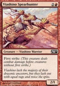 Viashino Spearhunter - Magic 2010