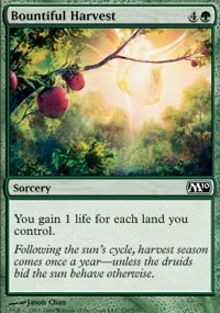 Bountiful Harvest - Magic 2010