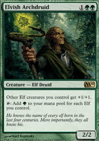 Elvish Archdruid - Magic 2010