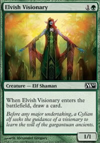 Elvish Visionary - Magic 2010