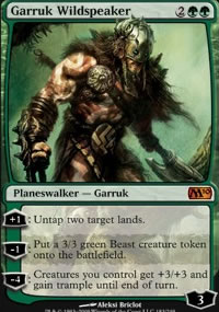 Garruk Wildspeaker - Magic 2010
