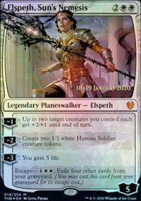Elspeth, Sun's Nemesis - Prerelease Promos
