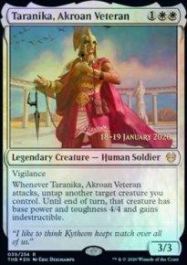 Taranika, Akroan Veteran - Prerelease Promos