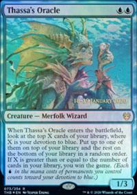 Thassa's Oracle - Prerelease Promos