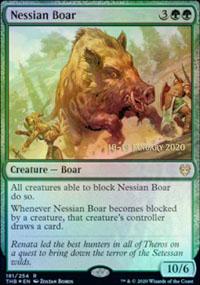 Nessian Boar - Prerelease Promos