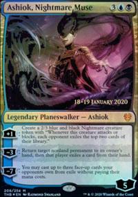 Ashiok, Nightmare Muse - Prerelease Promos