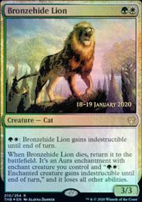 Bronzehide Lion - Prerelease Promos