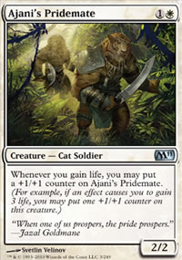 Ajani's Pridemate - Magic 2011