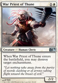 War Priest of Thune - Magic 2011