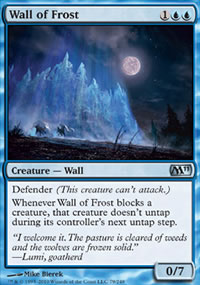 Wall of Frost - Magic 2011