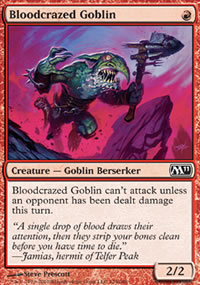 Bloodcrazed Goblin - Magic 2011