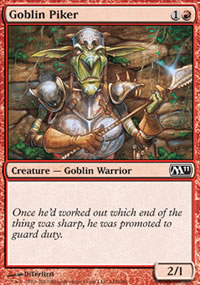 Goblin Piker - Magic 2011