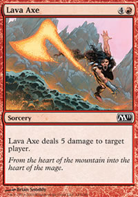 Lava Axe - Magic 2011