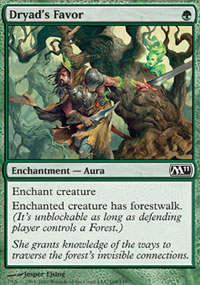 Dryad's Favor - Magic 2011