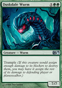 Duskdale Wurm - Magic 2011