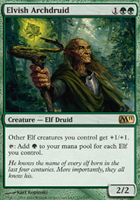Elvish Archdruid - Magic 2011
