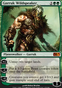 Garruk Wildspeaker - Magic 2011