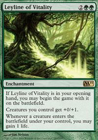 Leyline of Vitality - Magic 2011