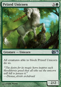 Prized Unicorn - Magic 2011