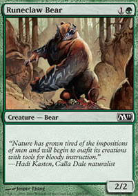 Runeclaw Bear - Magic 2011