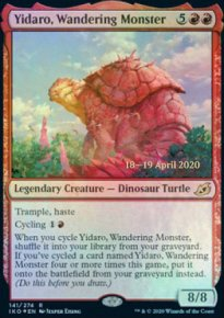 Yidaro, Wandering Monster - Prerelease Promos