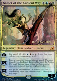 Narset of the Ancient Way - Prerelease Promos