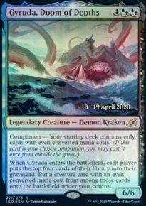 Gyruda, Doom of Depths - Prerelease Promos