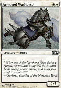 Armored Warhorse - Magic 2012