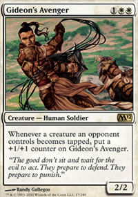 Gideon's Avenger - Magic 2012