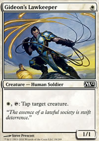 Gideon's Lawkeeper - Magic 2012