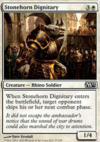 Stonehorn Dignitary - Magic 2012