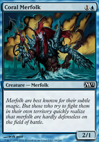Coral Merfolk - Magic 2012