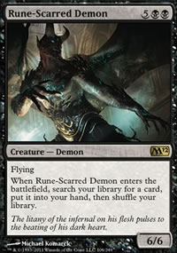 Rune-Scarred Demon - Magic 2012