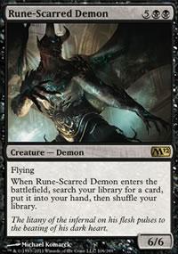 Rune-Scarred Demon - Magic 2012