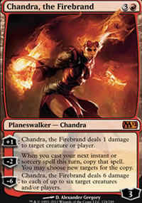 Chandra, the Firebrand - Magic 2012