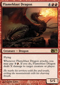 Flameblast Dragon - Magic 2012