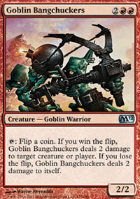 Goblin Bangchuckers - Magic 2012