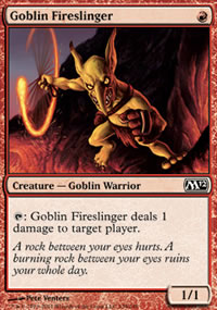 Goblin Fireslinger - Magic 2012