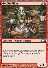 Goblin Piker - Magic 2012