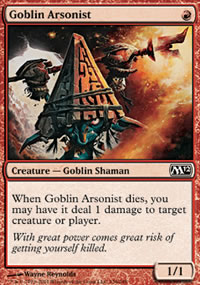 Goblin Arsonist - Magic 2012