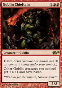 Goblin Chieftain - Magic 2012