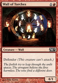 Wall of Torches - Magic 2012