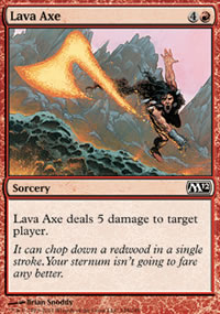 Lava Axe - Magic 2012