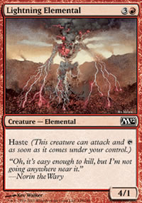 Lightning Elemental - Magic 2012