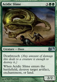 Acidic Slime - Magic 2012