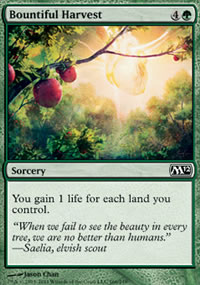 Bountiful Harvest - Magic 2012