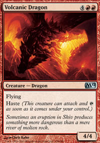Volcanic Dragon - Magic 2012